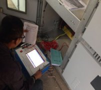 互感器分析仪试验现场